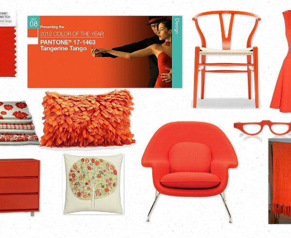"""2012 Pantone's Color of the Year is here! It is called """"Tangerine Tango."""""""