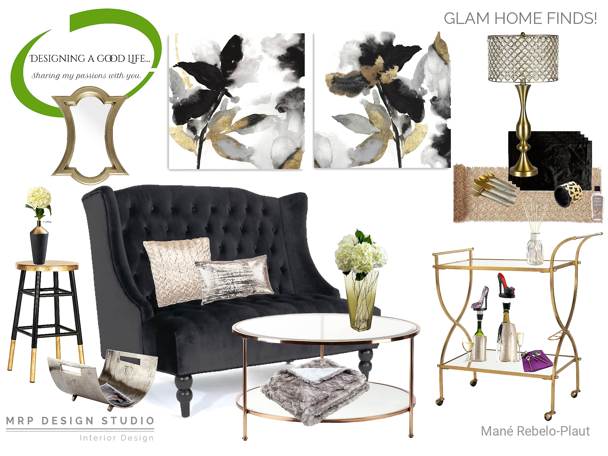 Glam Home Finds!