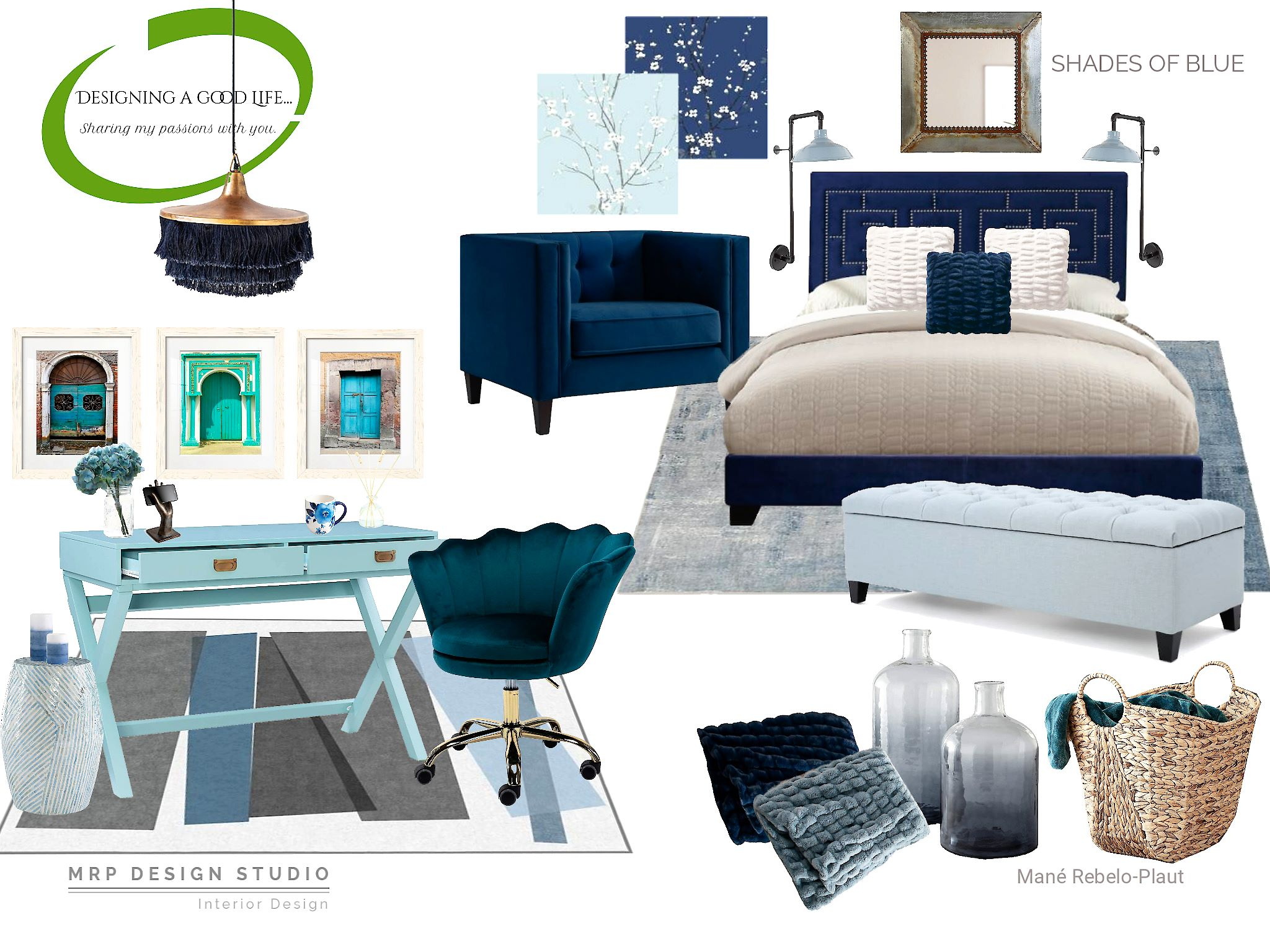Shades of Blue!