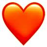 New Orange Heart